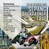SEPANG BACKPACKER TRIP